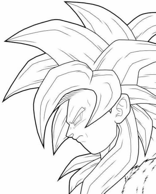 dibujos de de goku
