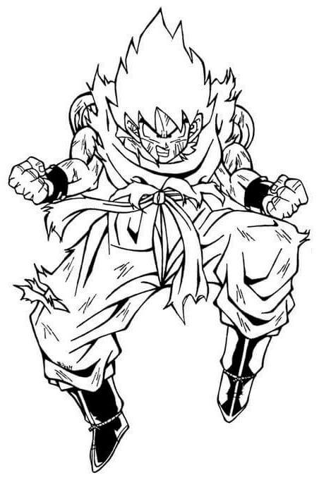 dibujos de dragon ball goku