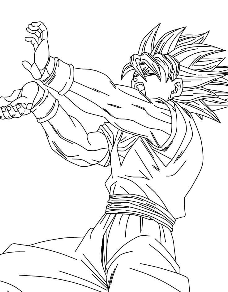 dibujos de goku profesionales