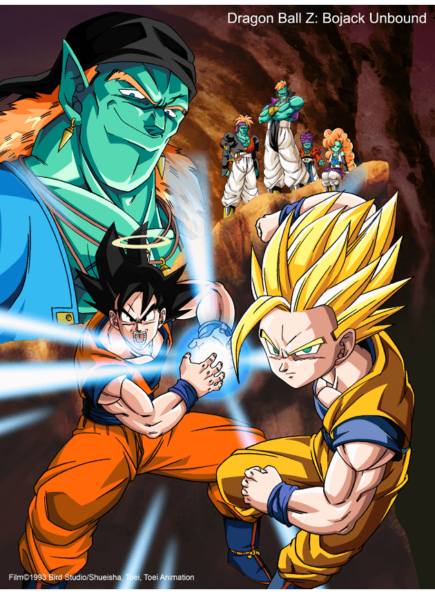 dragon ball z bojack pelicula