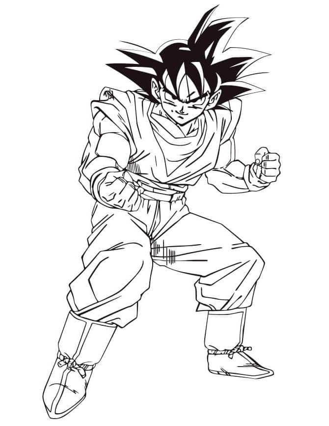 el mejor dibujo de goku