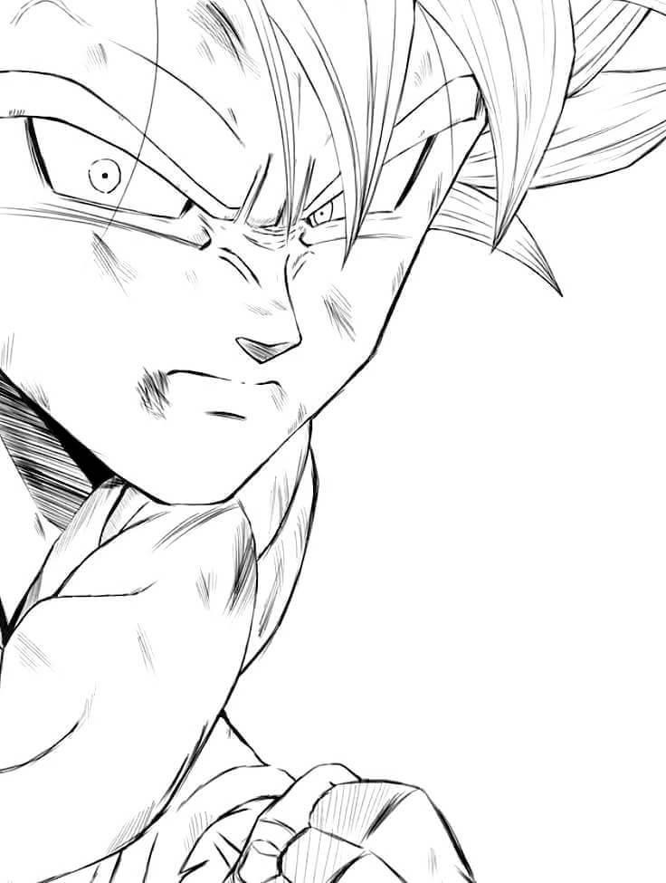 imagenes de dibujo de goku