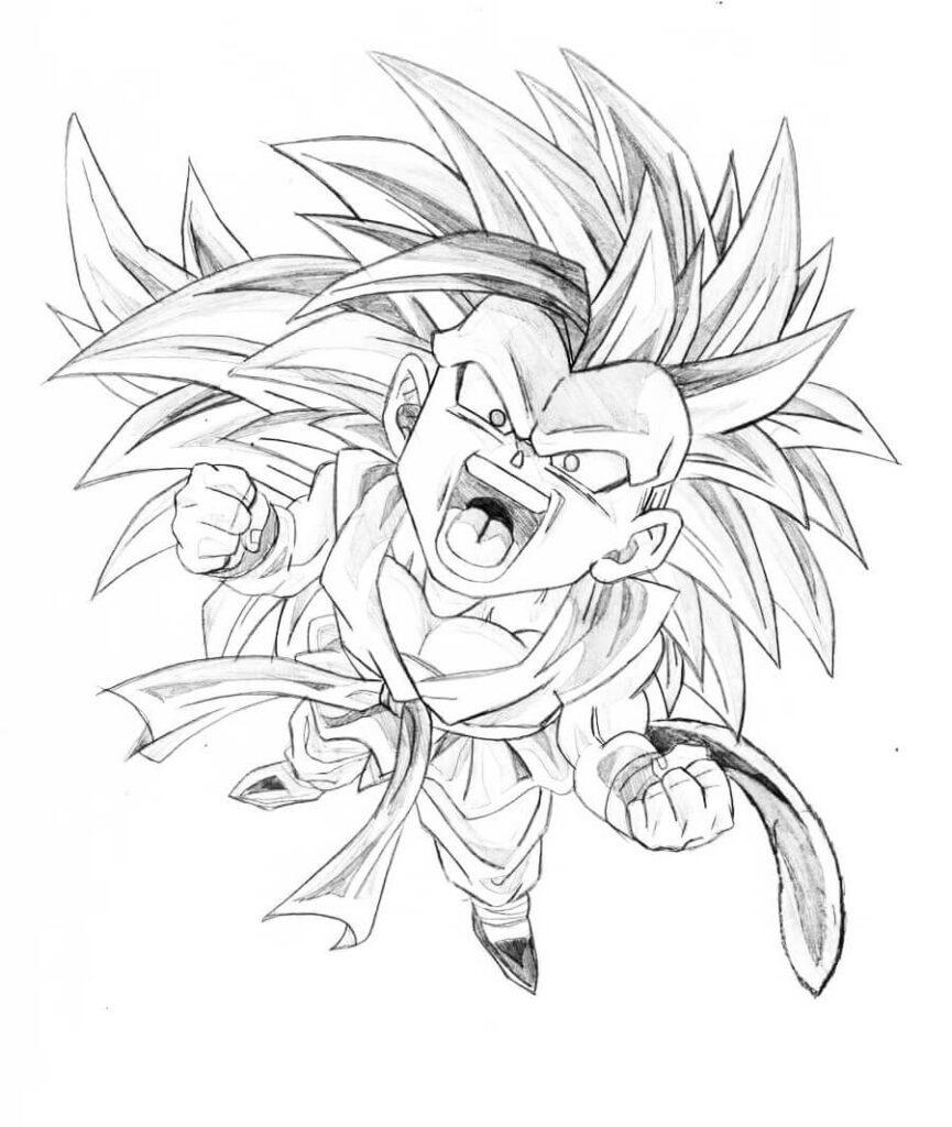 imagenes de dibujos de goku