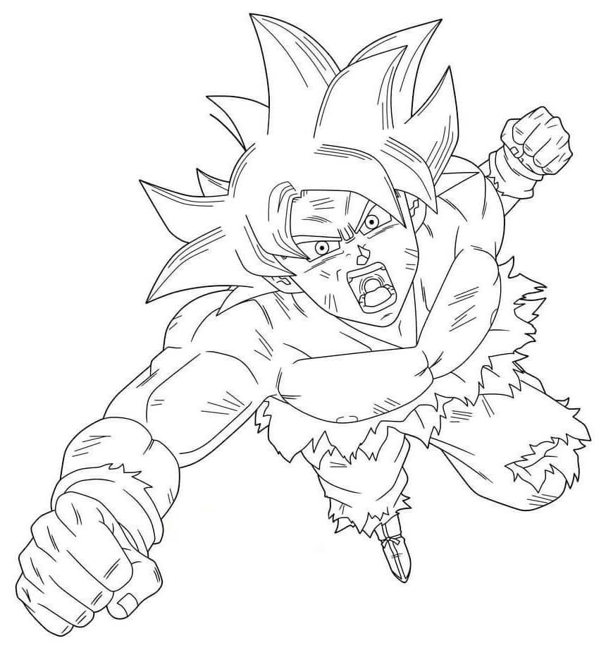 imagenes de goku chidas para dibujar