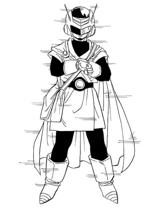 dibujos de gohan (5)