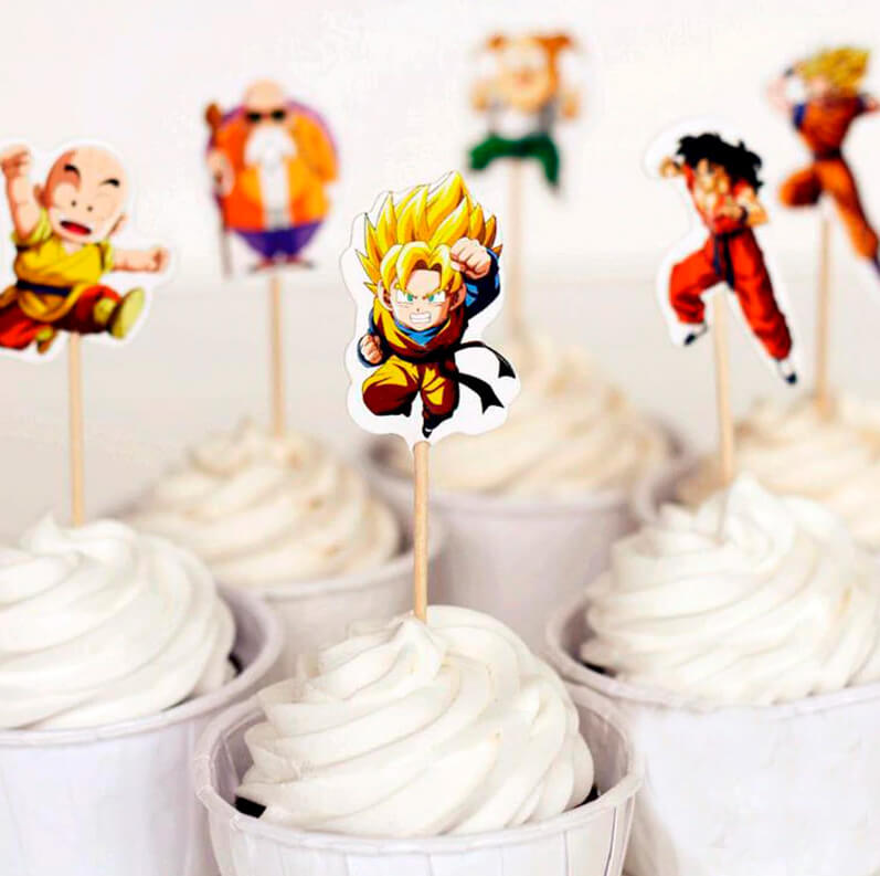 Decoracion-Cupcakes-Dragon-Ball-1