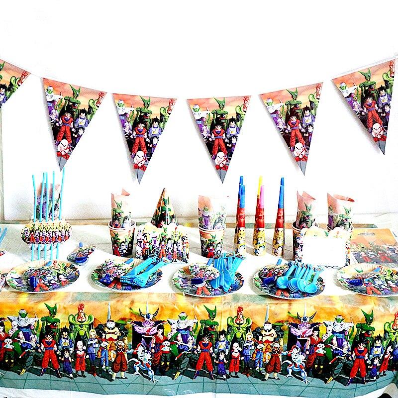 centro de mesa de goku