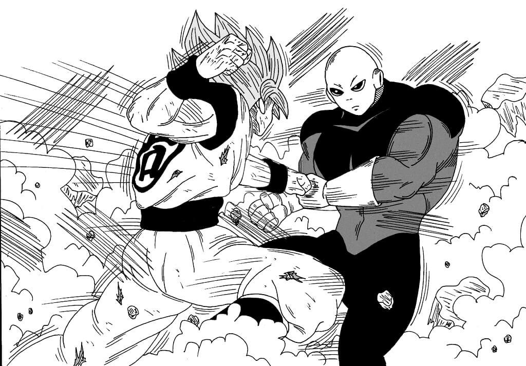 dibujos-de-goku-vs-jiren-para-colorear