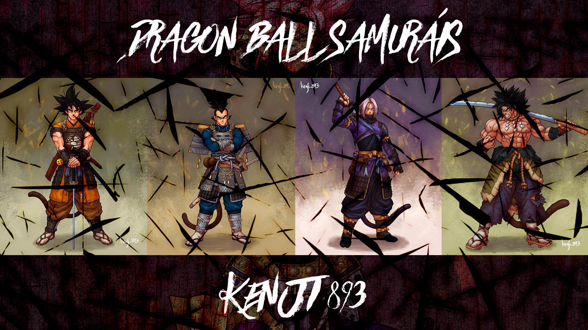 Samurais-de-Dragon-Ball-Z