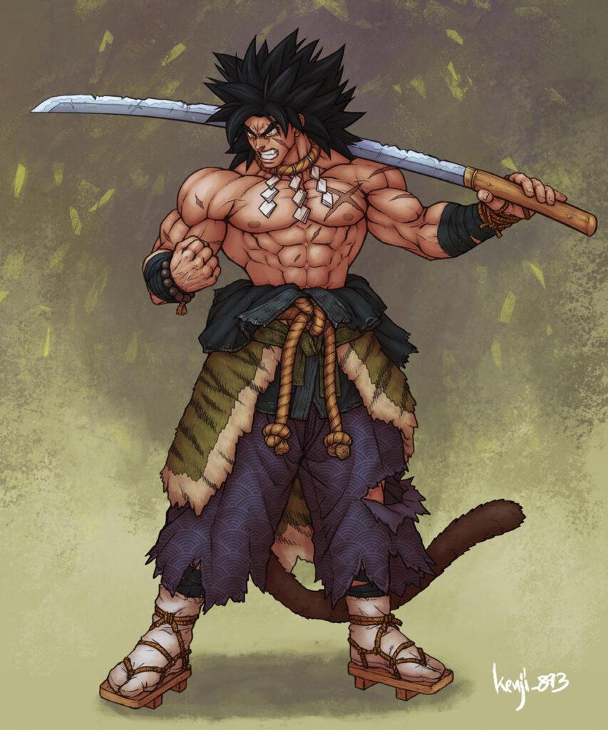 broly samurai