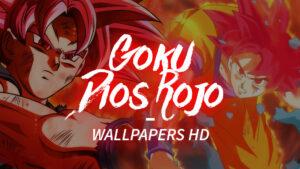 WALLPAPERS-DE-GOKU-DIOS-ROJO-EN-HD-Y-4K